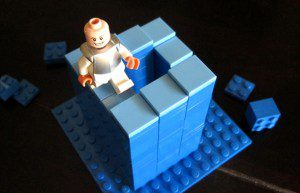 Lego Penrose Stairs